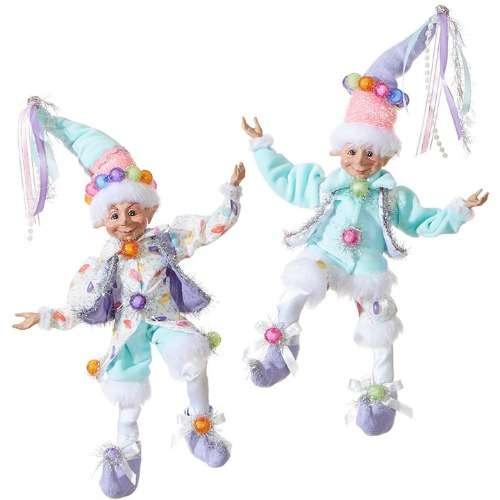 Candy theme Christmas Elves